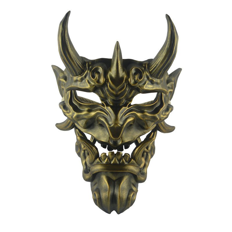 Resin Bronze Japanese  Jimmy's face Demon face Devil's Head and COS Disguised