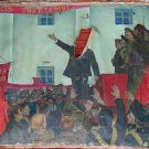 USSR Soviet propaganda Vintage Art October Revolution bolsheviks paintings