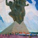 USSR Soviet propaganda Vintage Art October Revolution bolsheviks paintings