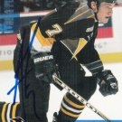 Andrew Ference Signed Penguins Rookie Card Oilers - Bruins