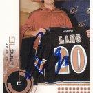 Robert Lang Signed Capitals Card Penguins - Kings