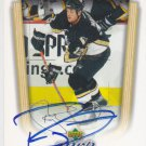 Ryan Malone Signed Penguins Card Lightning - Rangers