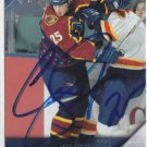 Andy Sutton Signed Thrashers Card Islanders