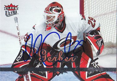 Martin Gerber Signed Hurricanes Card Ducks - Rogle
