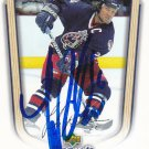 Luke Richardson Signed Blue Jackets Card Senators