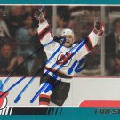 Jeff Friesen Signed Devils Card