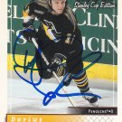 Darius Kasparaitis Signed Penguins Card Rangers - Saint Petersburg