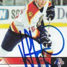 Jozef Stumpel Signed Panthers Card Kings - HK Nitra