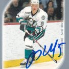 Vitaly Vishnevski Signed Mighty Ducks Card Yaroslavl Lokomotiv