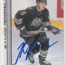 Kris Beech Signed Capitals Card Penguins - Belfast