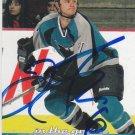Jim Fahey Signed Sharks Card Devils - Krefeld