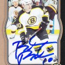 Brandon Bochenski Signed Bruins Card Blackhawks - Barys Astana
