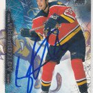 Viktor Kozlov Signed Panthers Card CSKA Moscow