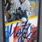 Daniil Markov Signed Maple Leafs Card Red Wings - CSKA Moscow