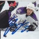 George Parros Signed Kings Card Ducks