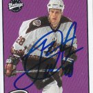 Landon Wilson Signed Coyotes Card Penguins - Lugano