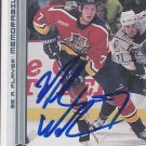 Mike Wilson Signed Panthers Card Belfast Giants