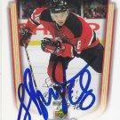 Sergei Brylin Signed Devils Card Metallurg