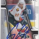 Craig Conroy Signed Flames Card