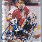 Fred Brathwaite Signed Sabres Card Adler Mannheim