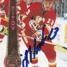 German Titov Signed Flames Card Penguins - Oblast