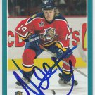 Niklas Hagman Signed Panthers Card Jokerit