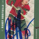 Randy Robitaille Autograph Wild Card Penguins - Donbass