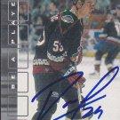 Branko Radivojevic Signed 2001-02 BAP Coyotes Rookie Card Liberec