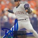 Dustin Hermanson Signed 1996 Donruss Card Padres