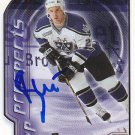 Brad Chartrand Signed Kings Prospect Card