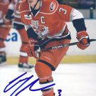 Joey Mormina Signed Hurricanes 4 x 6 Picture WBS Penguins - Crunch