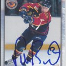 Petr Buzek Signed Thrashers Card Flames - Dukla Jihlava