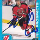 Mike Commodore Signed Devils Prospects Card
