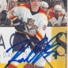 Rostislav Olesz Signed Panthers Card Vitkovice