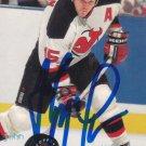 John Maclean Signed Devils Card Rangers