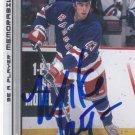Mike Mottau Signed Rangers Card Devils