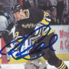 Bryan Smolinski Signed Penguins Card Kings - Senators