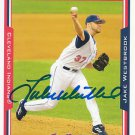 Jake Westbrook Signed Indians Card Cardinals