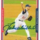 Jake Westbrook Signed Indians Card Cardinals