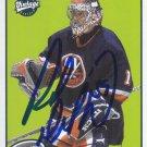 Rick Dipietro Signed 01-02 Vintage Islanders Card