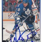 Mike Eastwood Signed Maple Leafs Card Blues