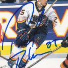 Pascal Rheaume Signed Blues Card Devils