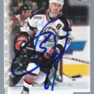 Jason Woolley Signed Sabres Card Penguins - Capitals