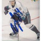 Stanislav Chistov Signed Ducks Card Dinamo Riga