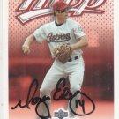 Morgan Ensberg Signed Houston Astros Card