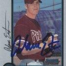 Adam Eaton Autograph 1998 Chrome Phillies Card