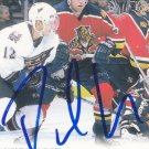 Paul Laus Signed Florida Panthers Card