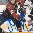 Jeff Odgers Autograph 2003 Pacific Thrashers Card Sharks - Avalanche