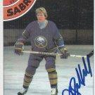 Jim Schoenfeld Autograph 1978-79 Sabres Card Rangers