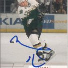 Mike Keane Autograph 00-01 UD Stars Card Canadiens